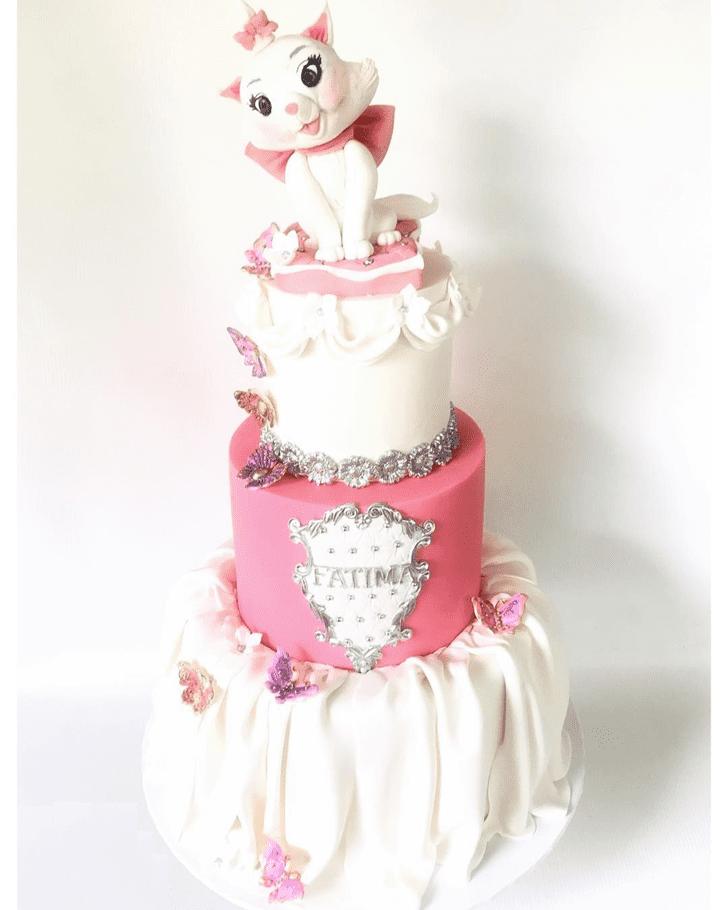 Admirable Aristocats Cake Design