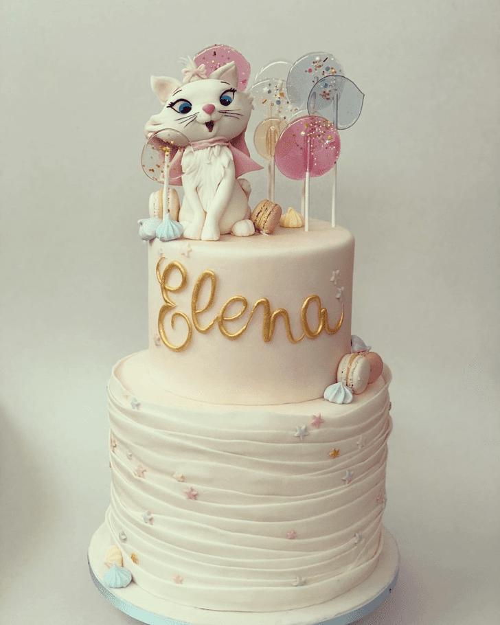 Alluring Aristocats Cake