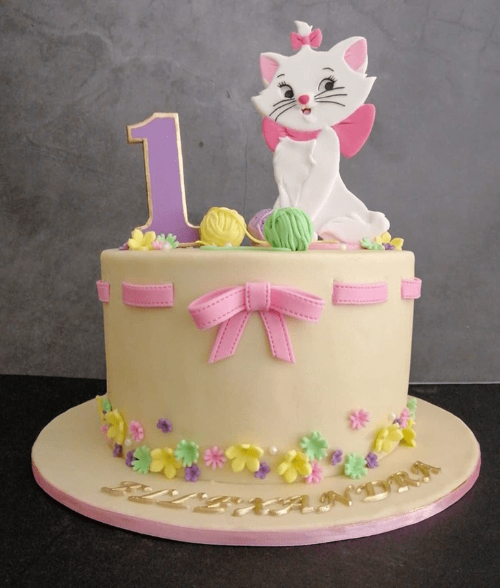 Appealing Aristocats Cake