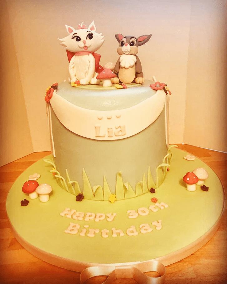 Beauteous Aristocats Cake