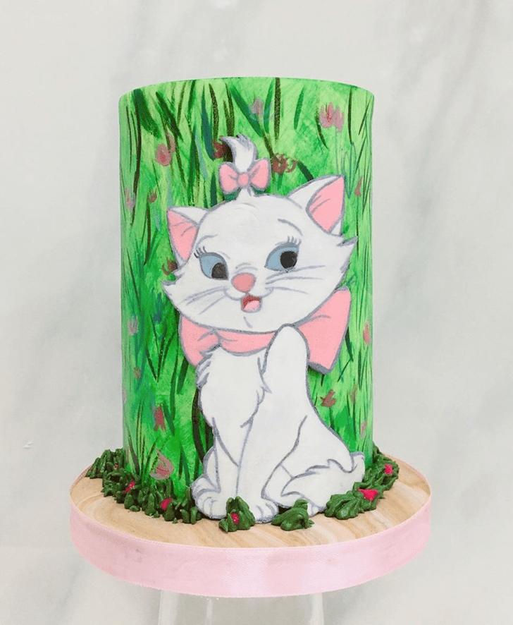 Classy Aristocats Cake