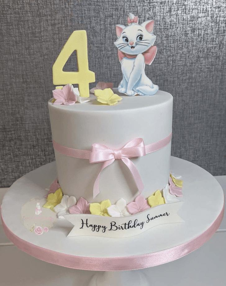 Cute Aristocats Cake