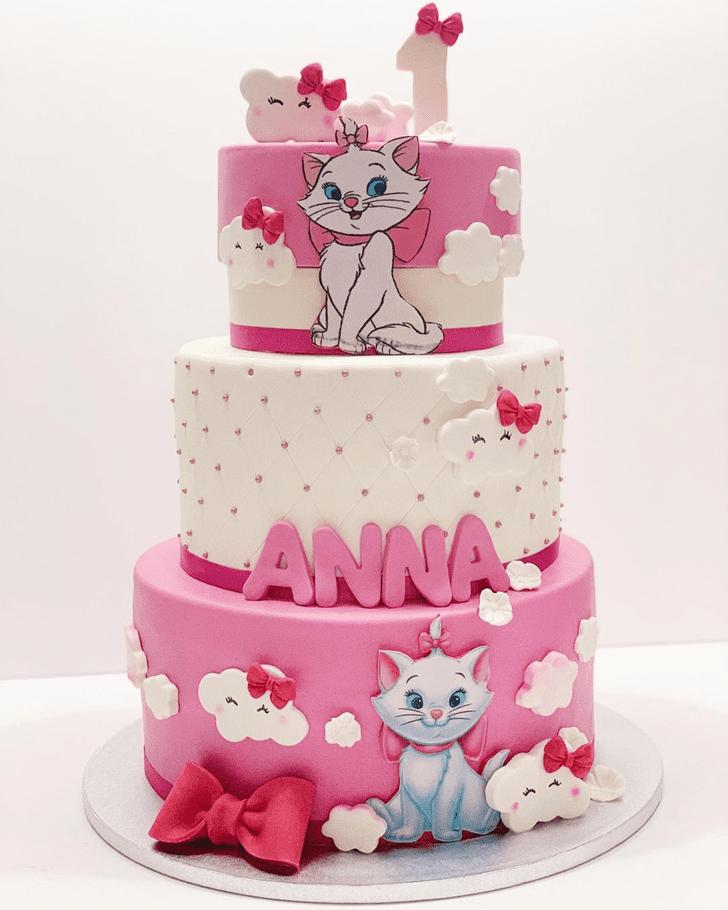 Delightful Aristocats Cake