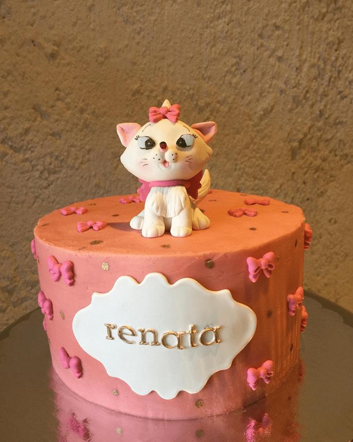Elegant Aristocats Cake