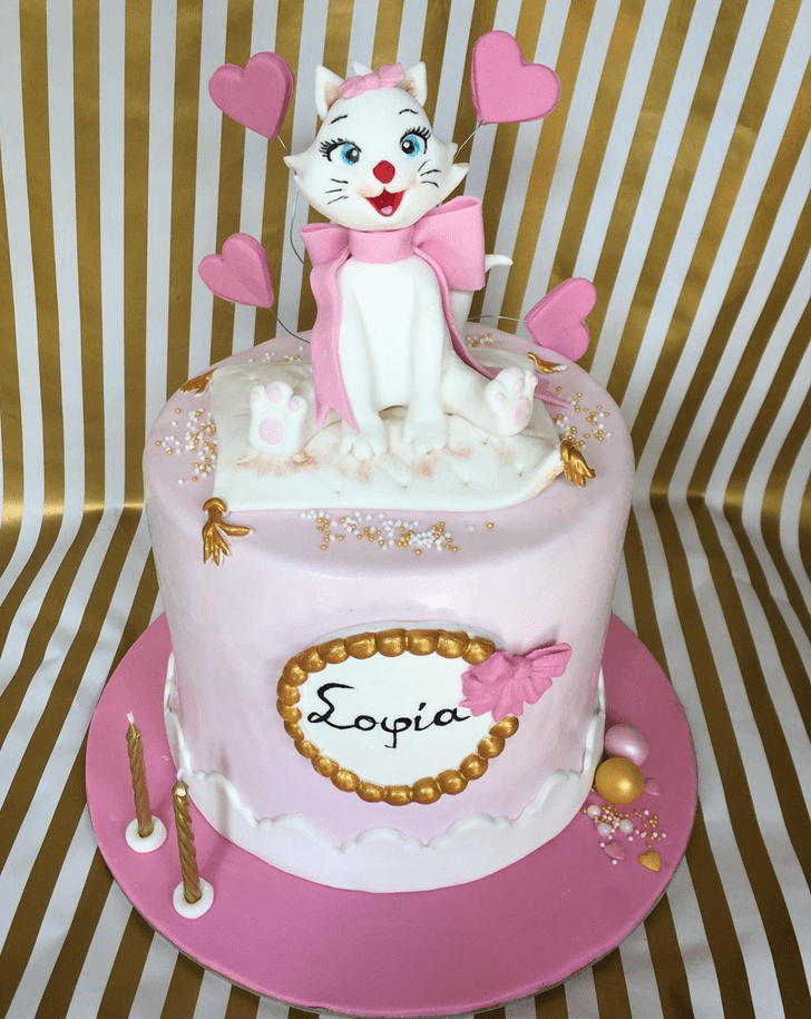 Exquisite Aristocats Cake