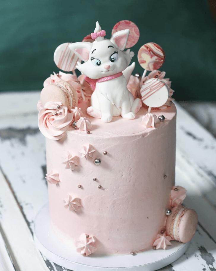Fascinating Aristocats Cake