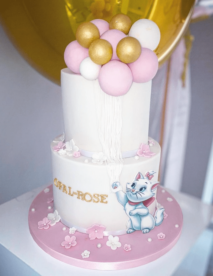 Fine Aristocats Cake