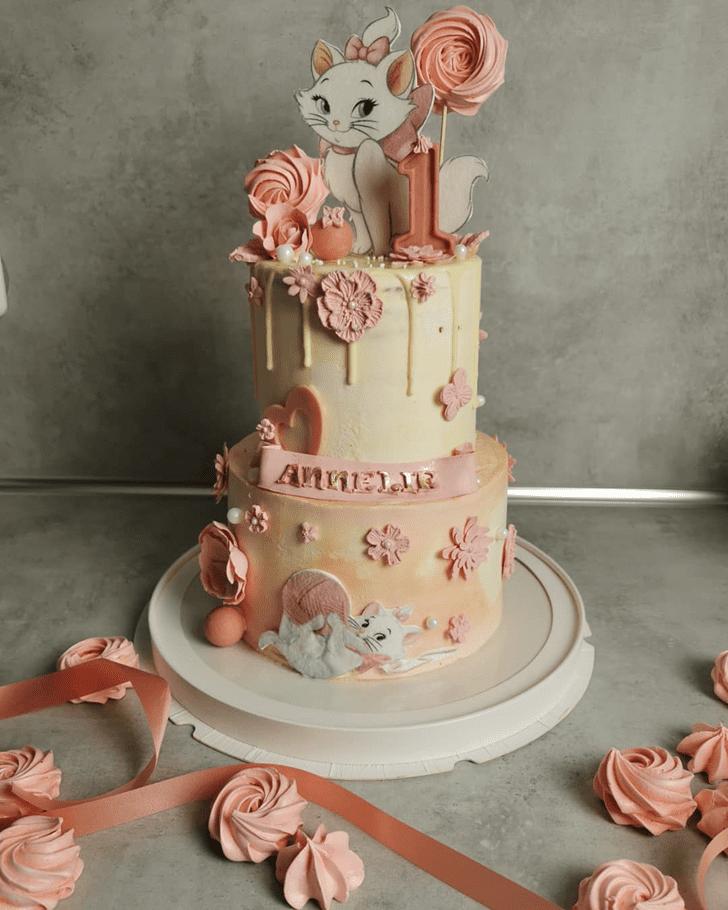 Gorgeous Aristocats Cake