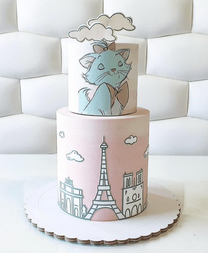 Magnificent Aristocats Cake