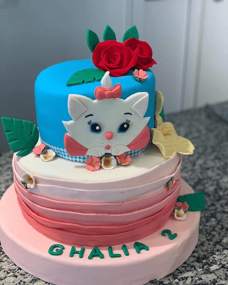 Mesmeric Aristocats Cake