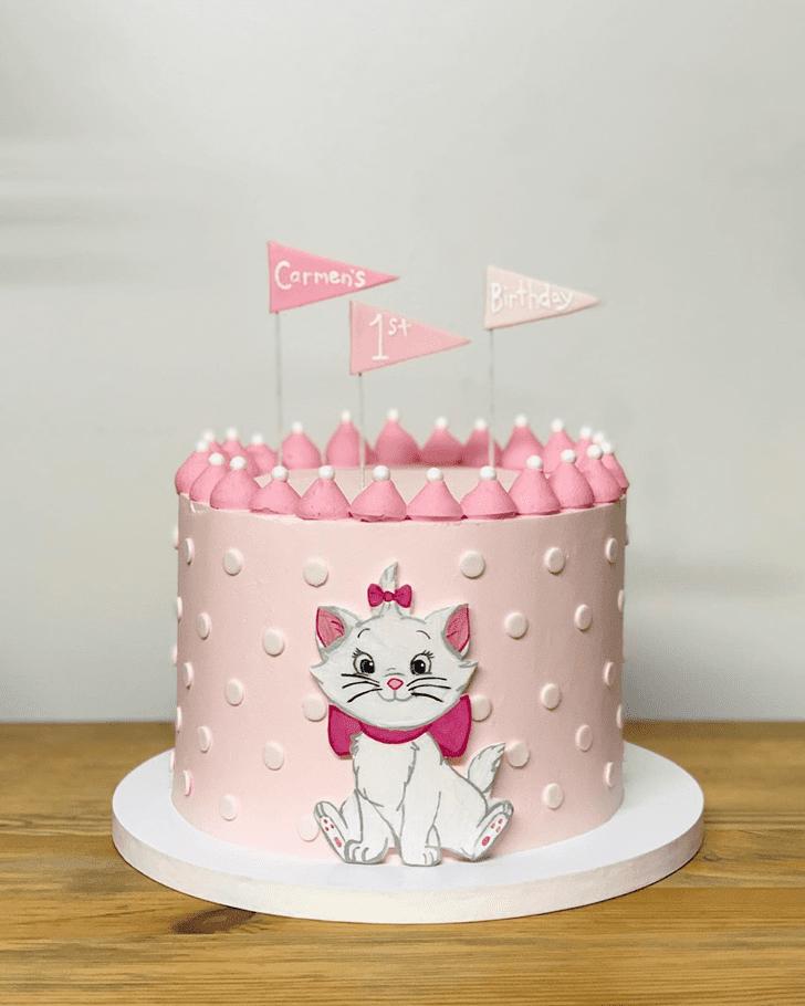 Pleasing Aristocats Cake