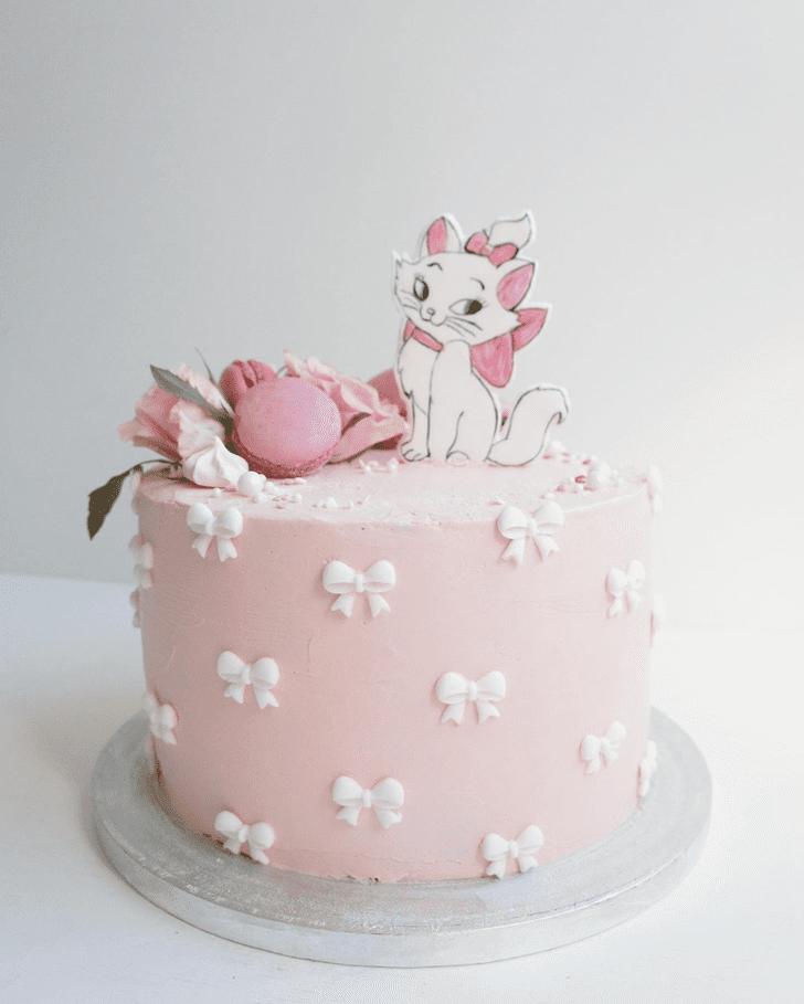 Slightly Aristocats Cake