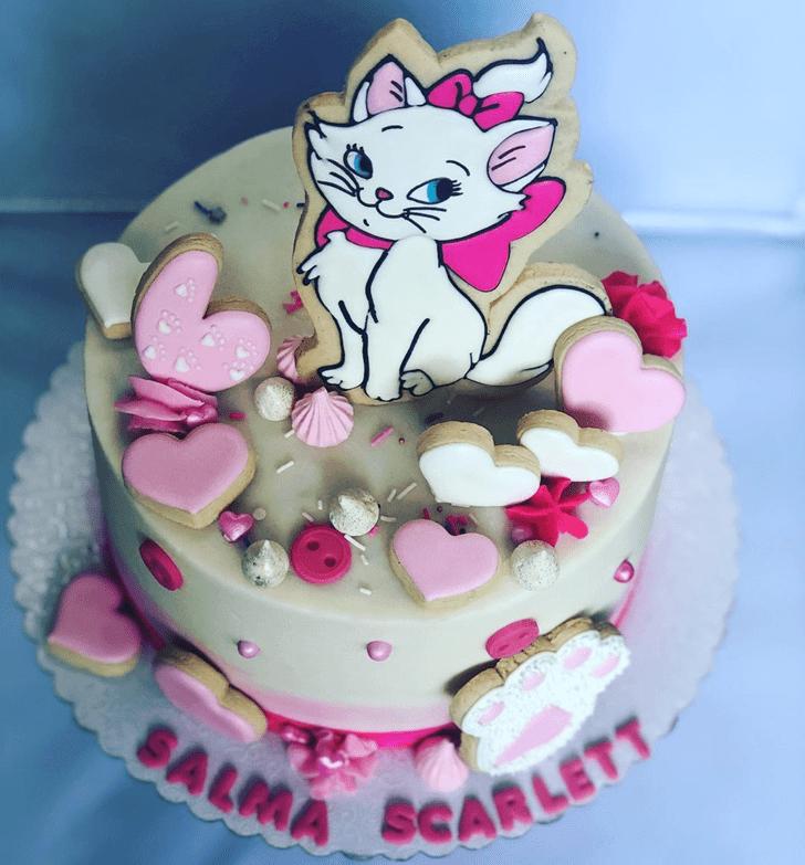 Wonderful Aristocats Cake Design