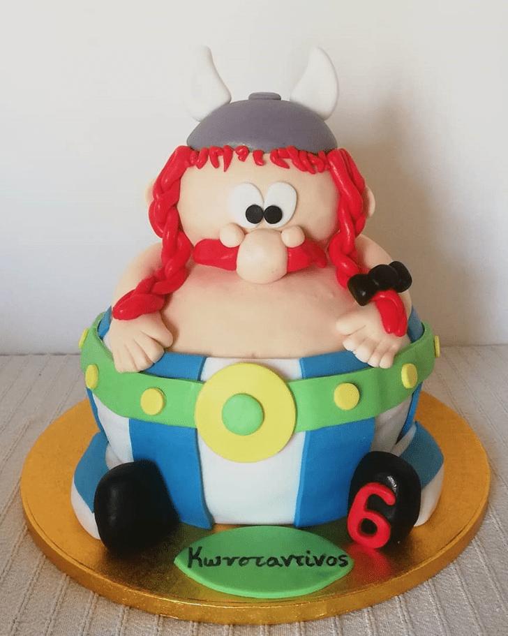 Angelic Asterix Cake