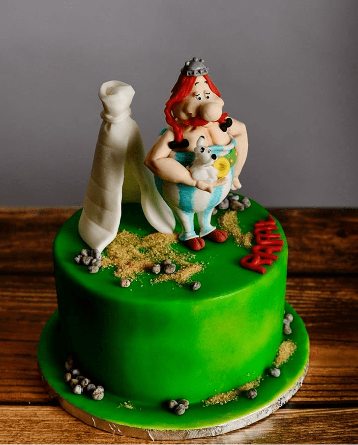 Bewitching Asterix Cake