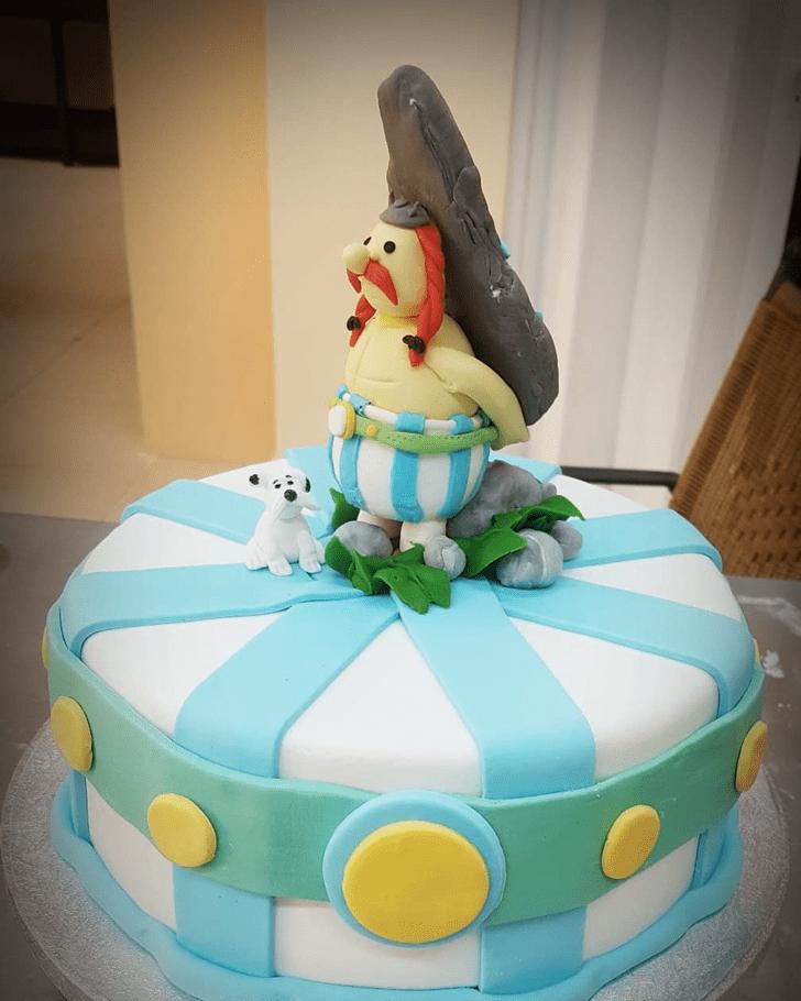 Classy Asterix Cake