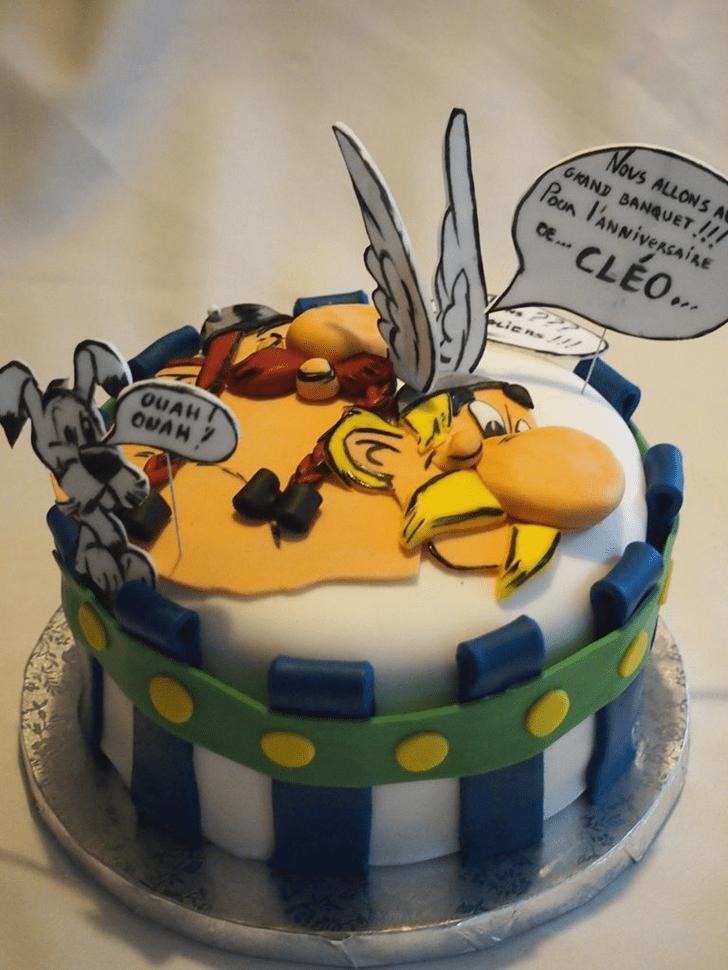 Cute Asterix Cake