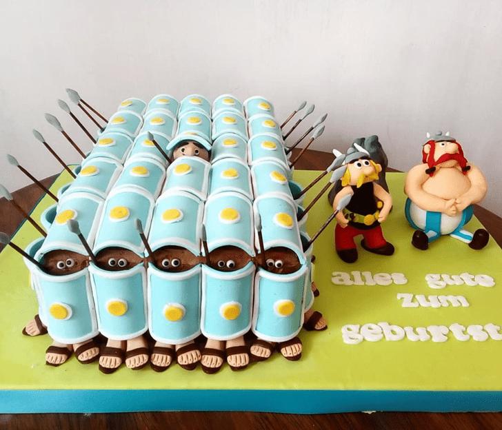 Delightful Asterix Cake