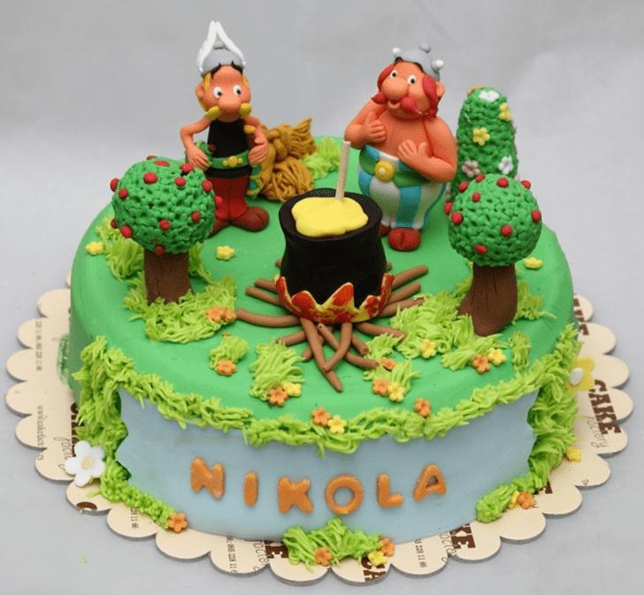 Divine Asterix Cake