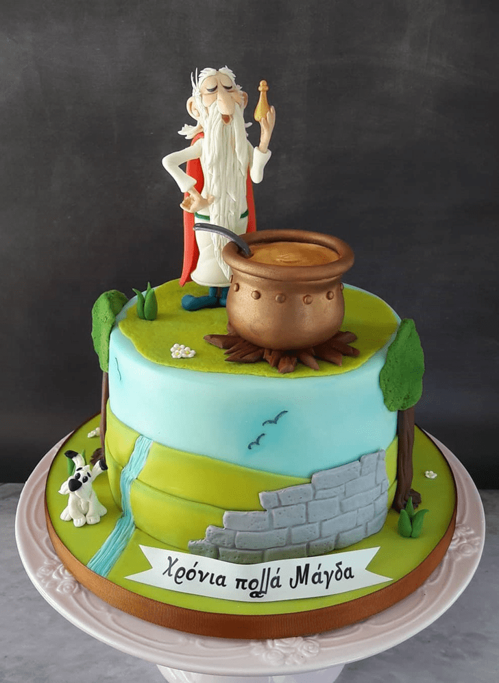 Enthralling Asterix Cake