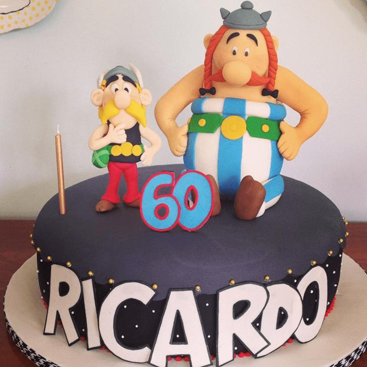 Fair Asterix Cake