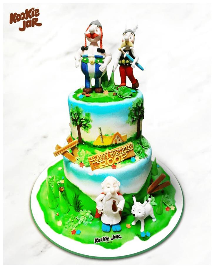 Gorgeous Asterix Cake
