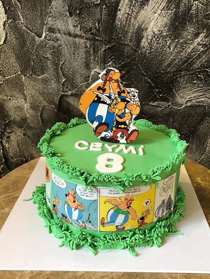Ravishing Asterix Cake
