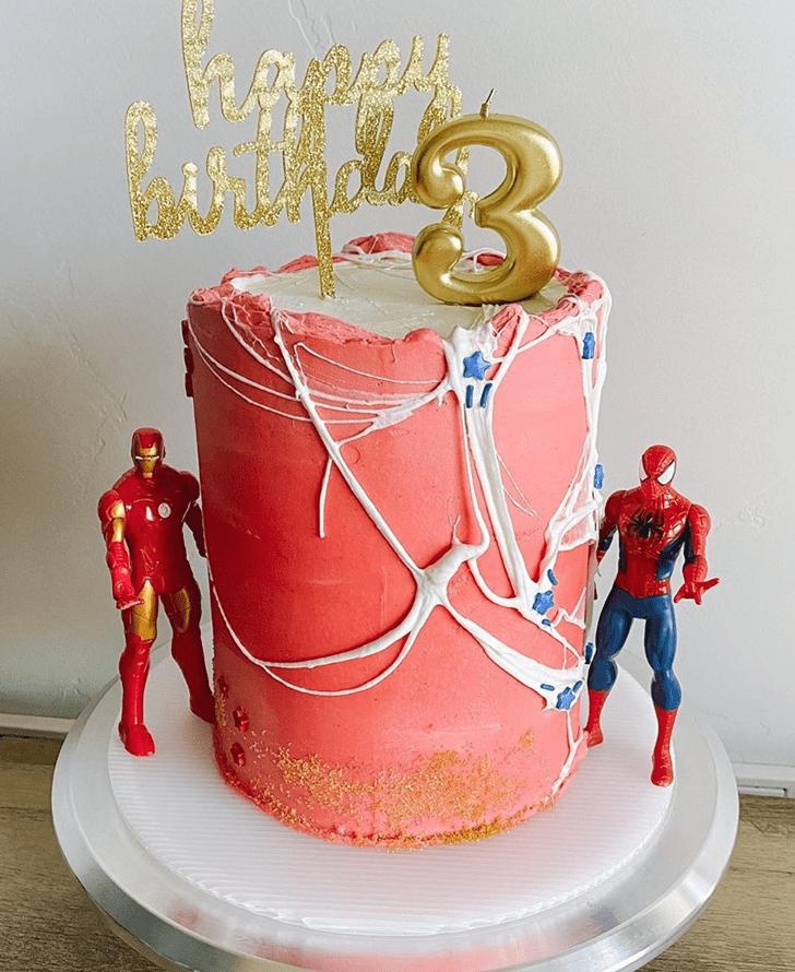 Adorable Avengers Cake