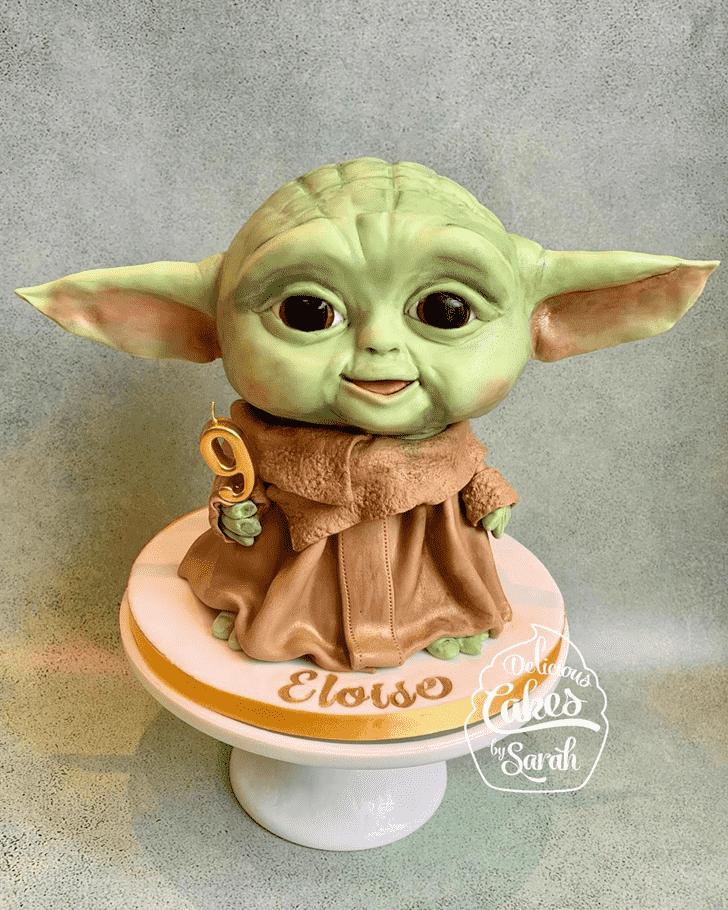 Ideal Baby Yoda Cake