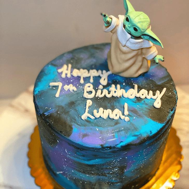 Nice Baby Yoda Cake