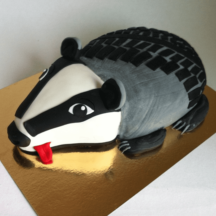 Charming Badger Cake