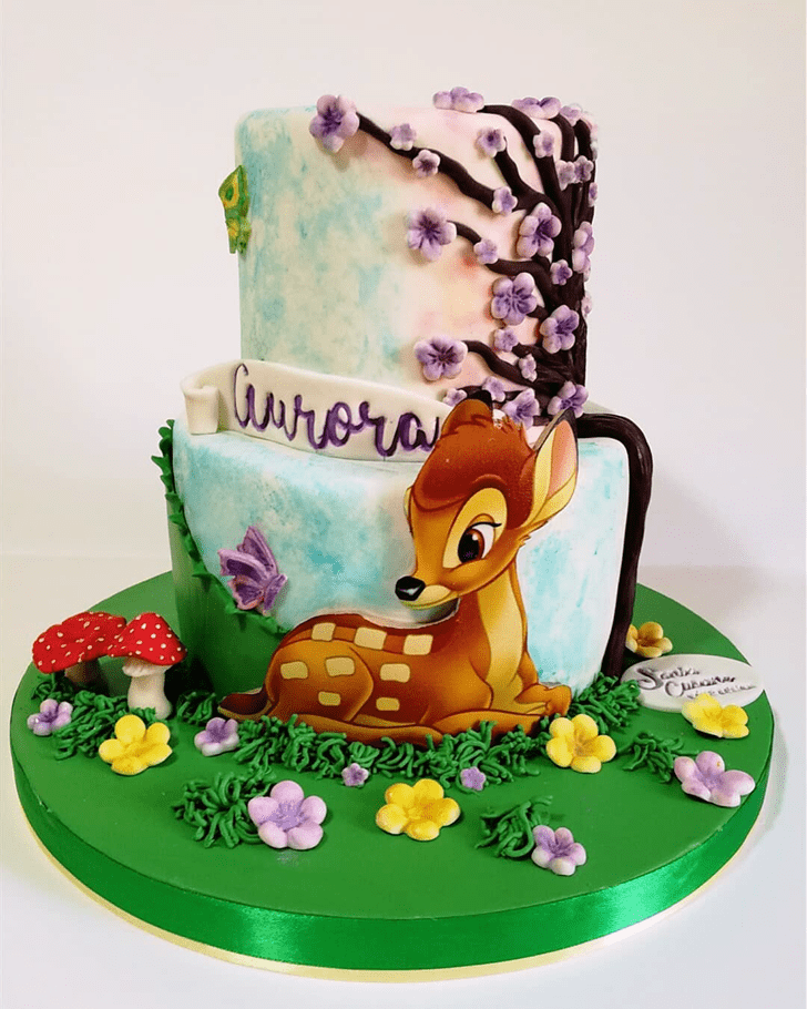 Admirable Bambi Cake Design