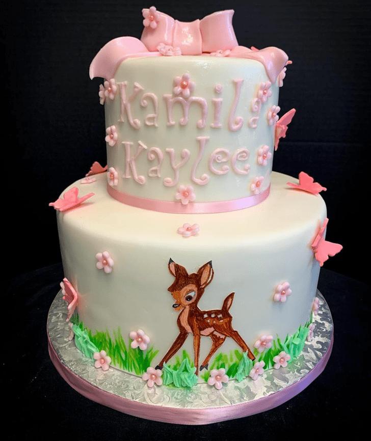 Alluring Bambi Cake