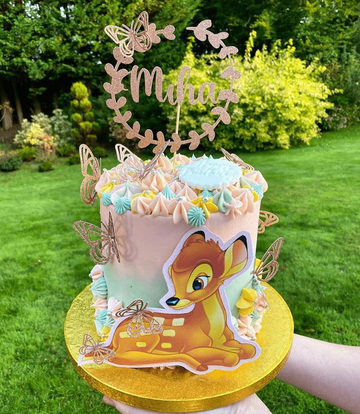 Charming Bambi Cake