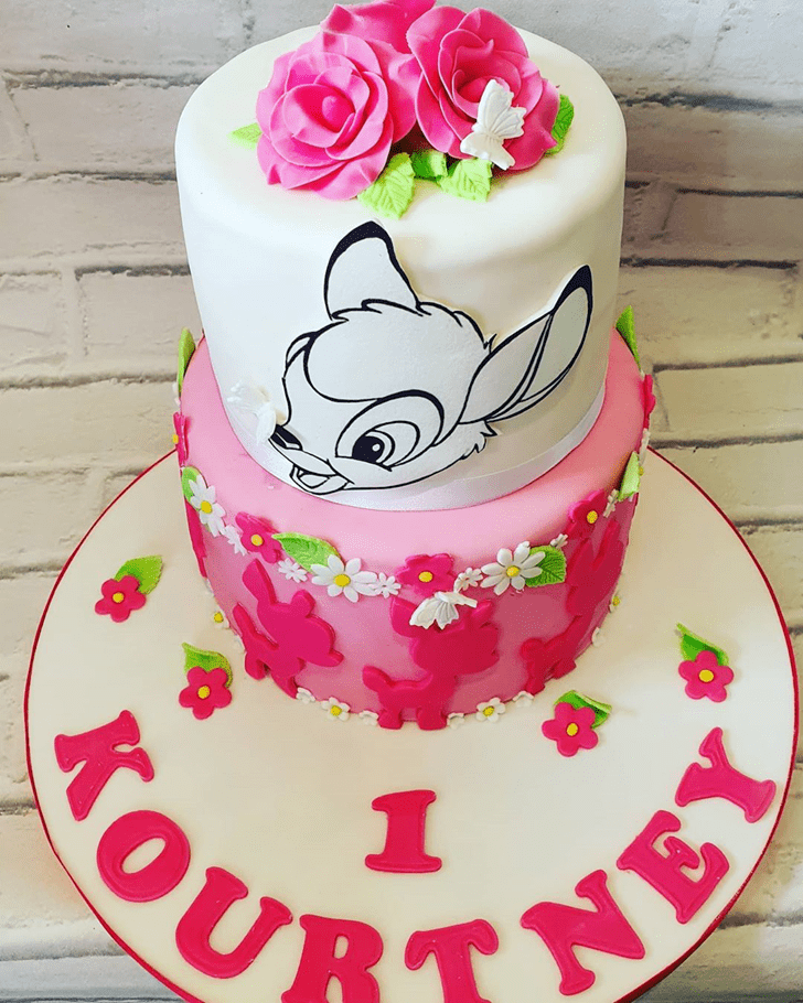 Comely Bambi Cake