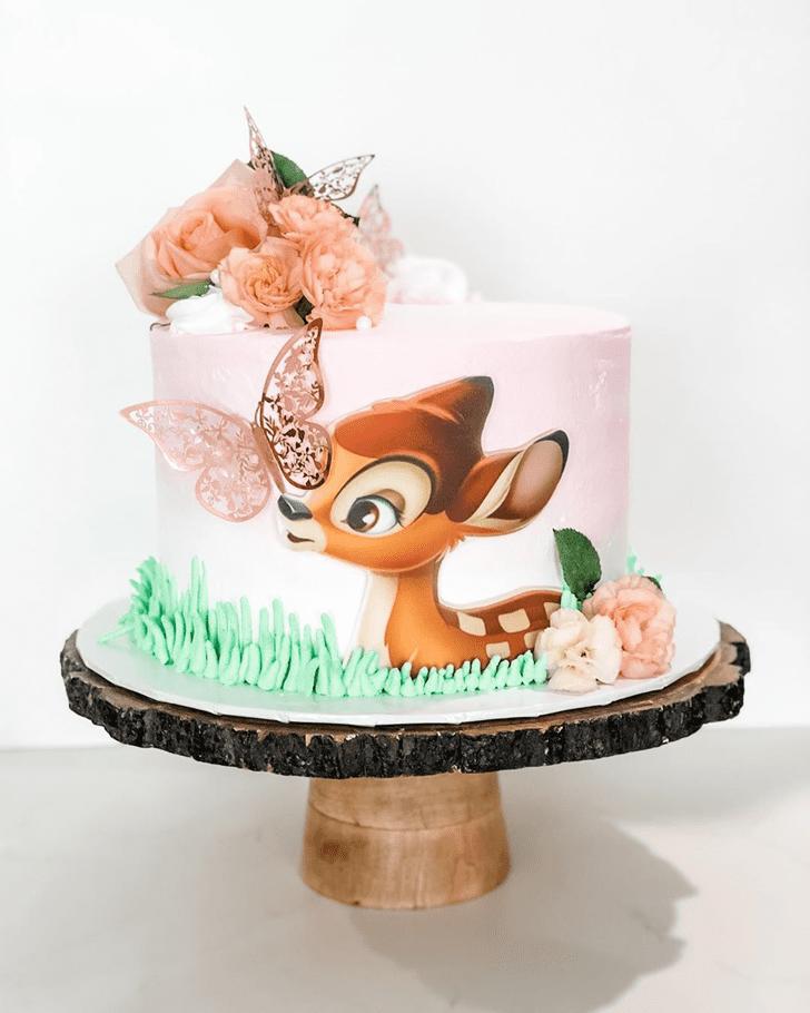 Delicate Bambi Cake