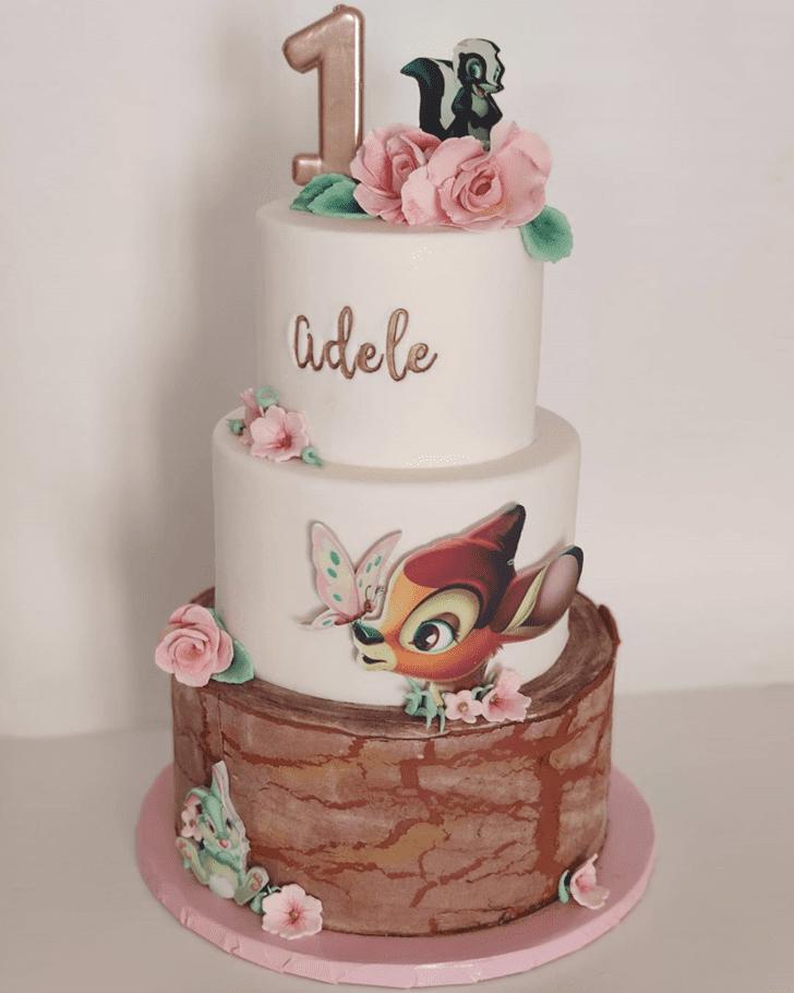 Enticing Bambi Cake