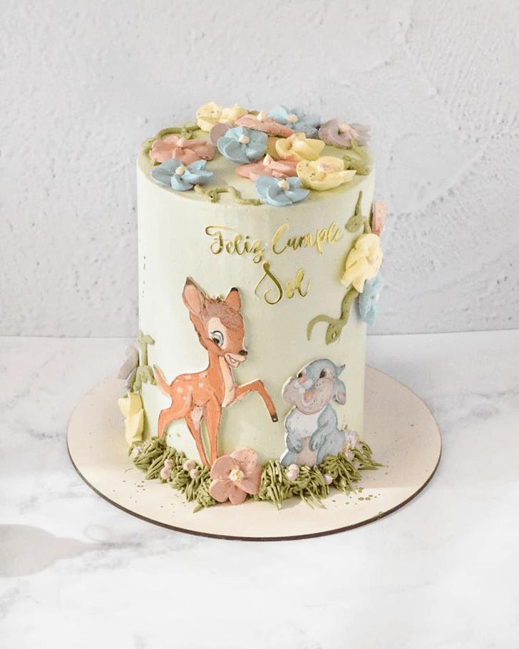 Exquisite Bambi Cake