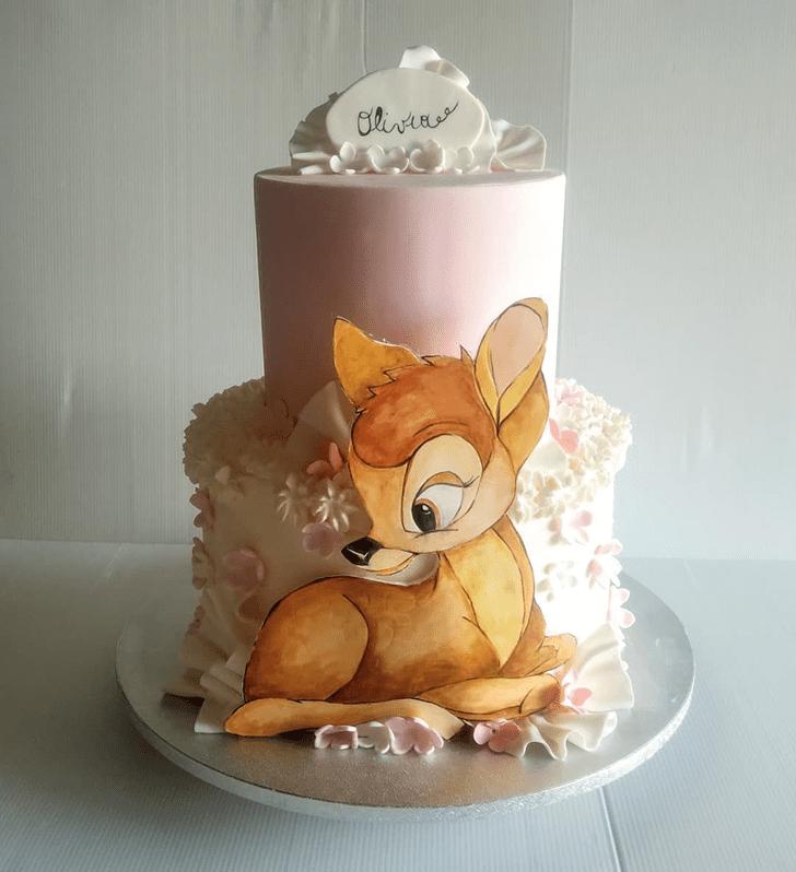 Fair Bambi Cake