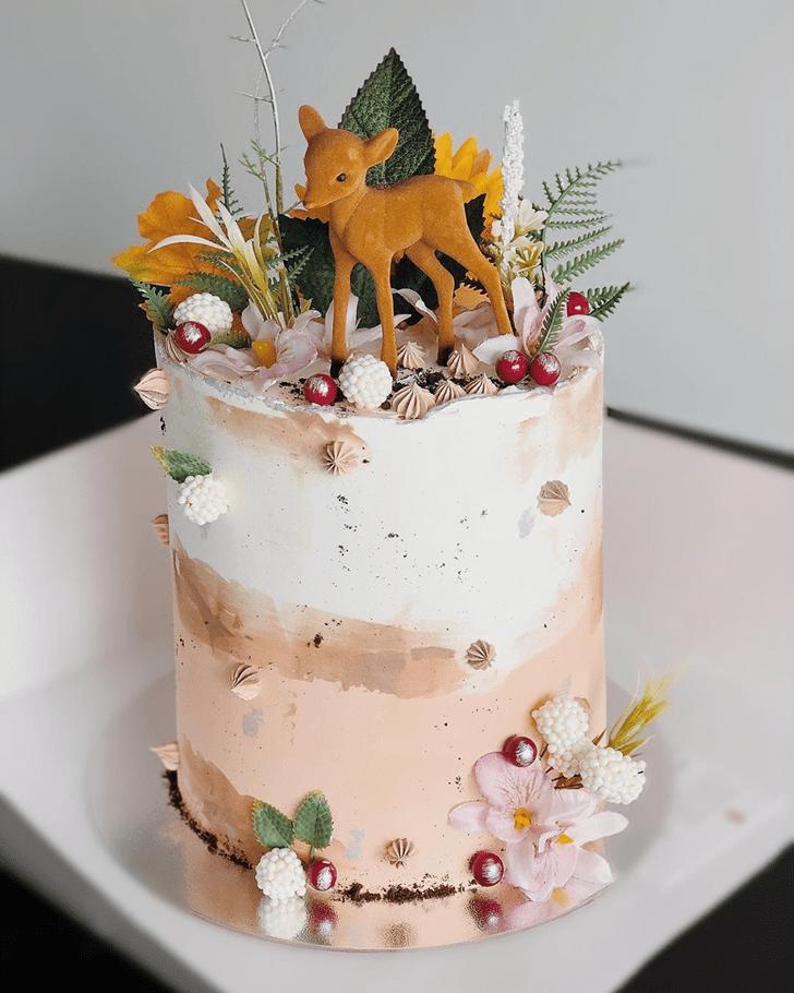 Good Looking Bambi Cake