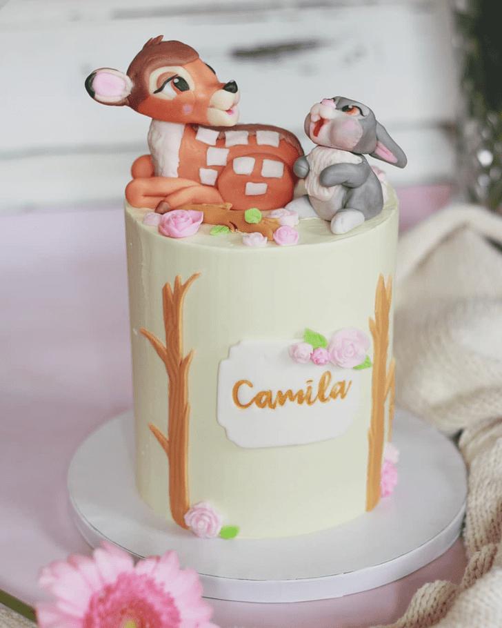 Gorgeous Bambi Cake
