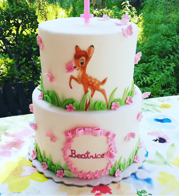 Handsome Bambi Cake