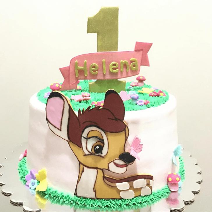 Lovely Bambi Cake Design