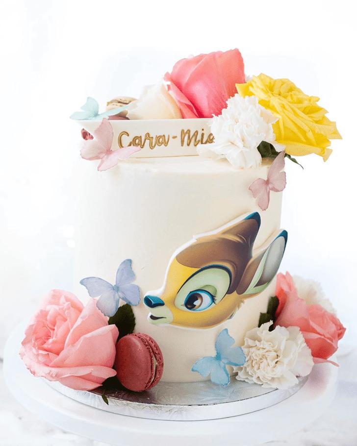 Mesmeric Bambi Cake