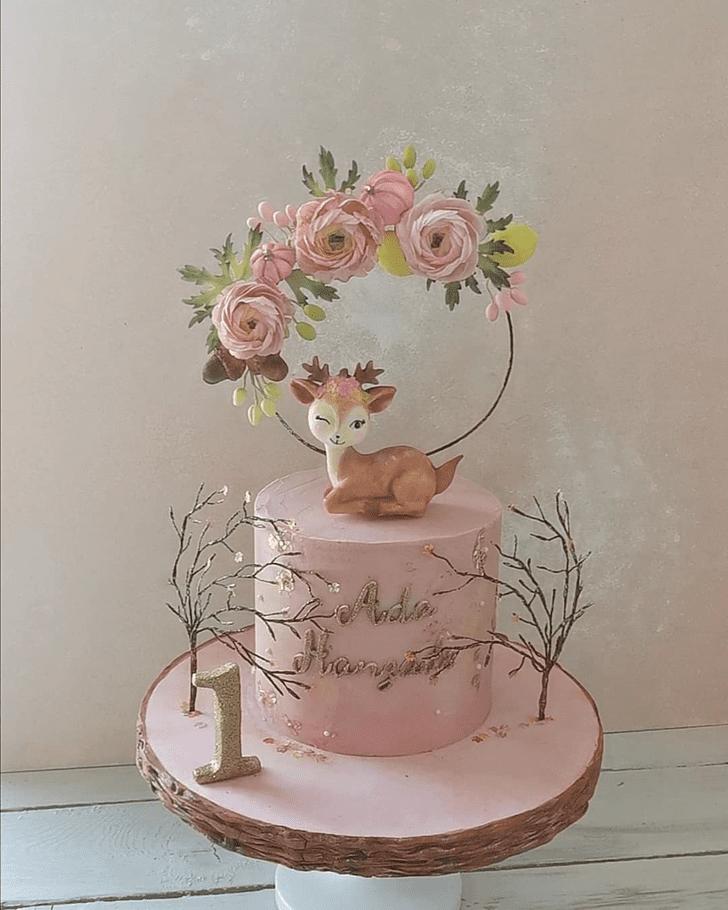 Nice Bambi Cake