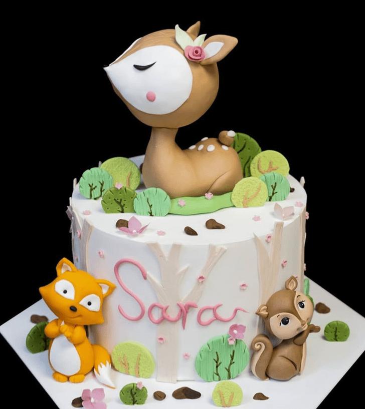 Pretty Bambi Cake