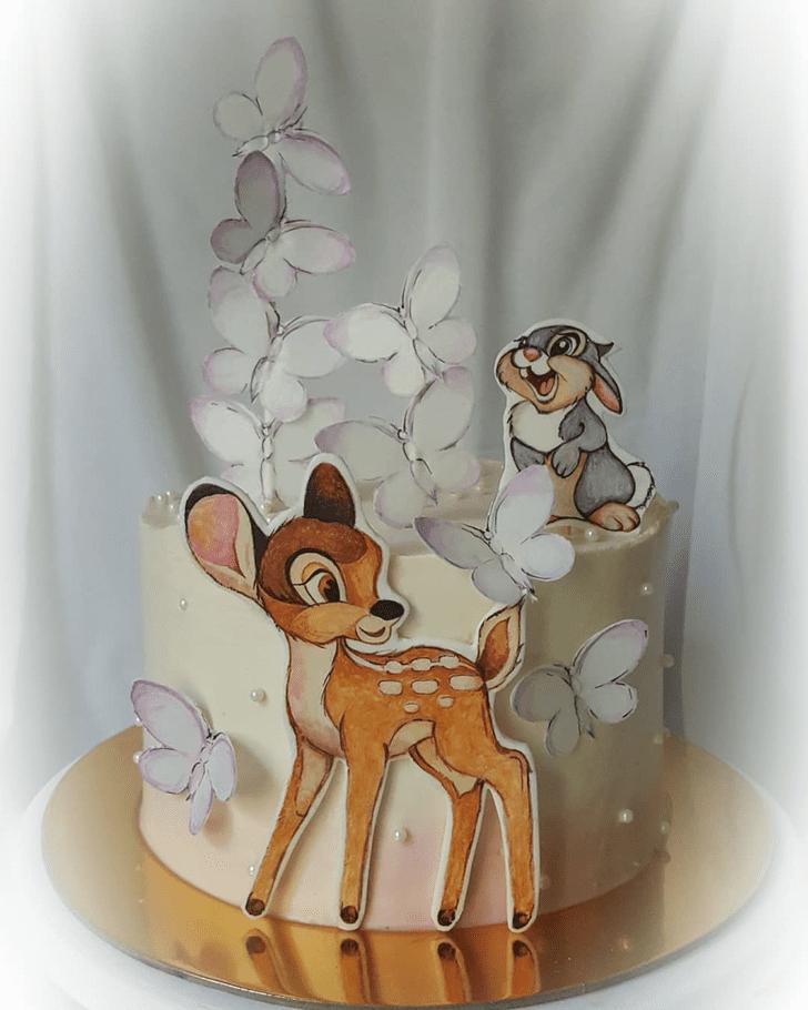 Radiant Bambi Cake