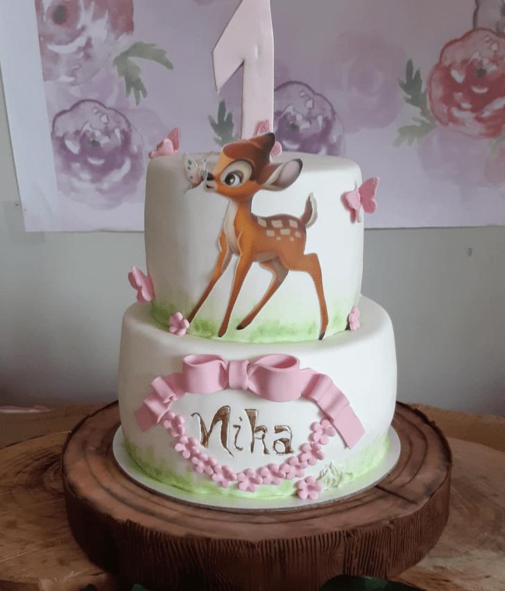 Resplendent Bambi Cake