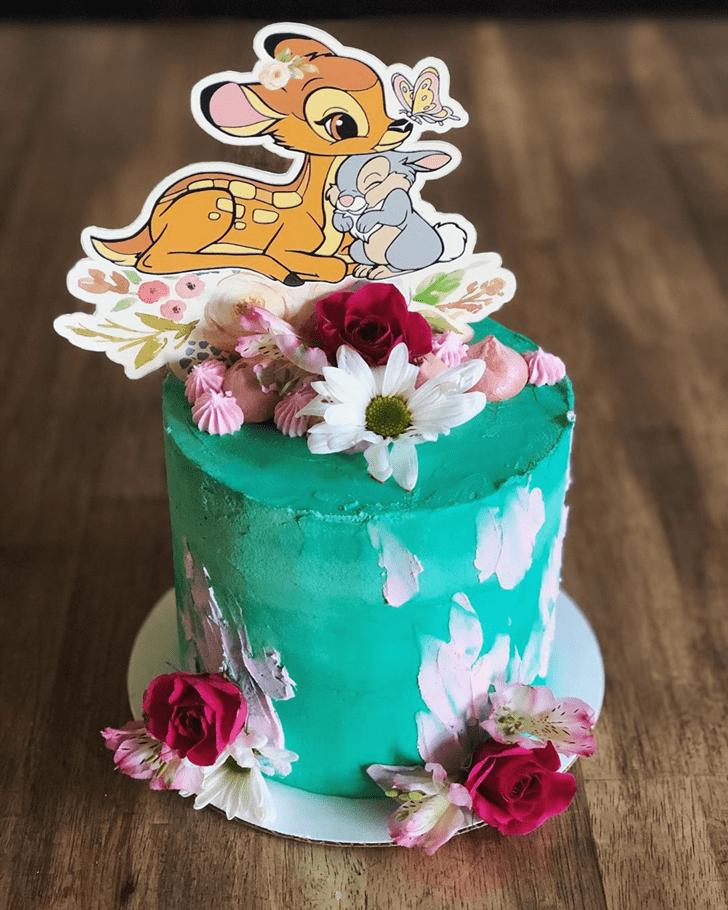 Shapely Bambi Cake