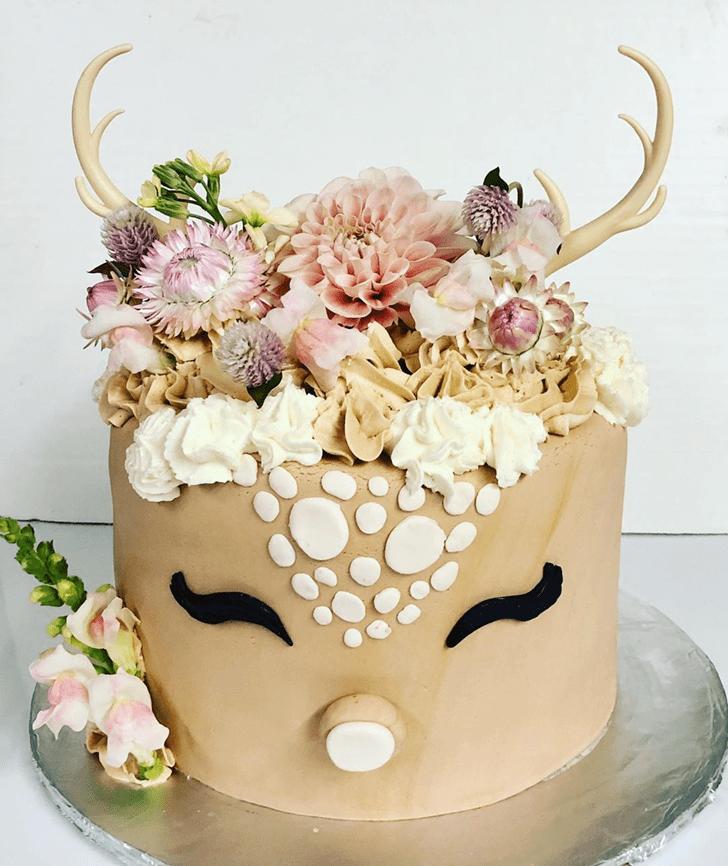 Slightly Bambi Cake